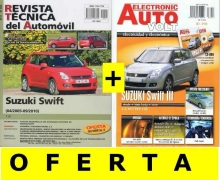 MANUAL DE TALLER SUZUKI SWIFT 1.3+MANUAL  ELECTRICIDAD SWIFT Y CD ROM +PACK ACCESORIOS