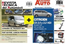 MANUAL DE TALLER CITROEN C8,PEUGEOT 806 DIESEL,2002 +EAV ELECTRICIDAD Y CD ROM+REGALO PACK