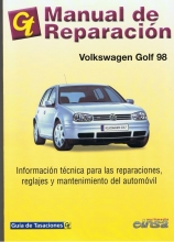 MANUAL DE TALLER Y MECANICA VOLKSWAGEN GOLF IV desde 98   (agotado)