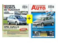 MANUAL DE TALLER OPEL ZAFIRA II,1.9 CDTi + MANUAL DE ELECTRICIDAD ZAFIRA II+CD ROM+REGALO PACK