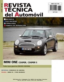 MANUAL DE TALLER MINI ONE COOPER Y COOPER S 2001/06 GASOLINA R163