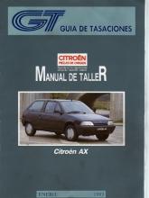 MANUAL DE TALLER Y MECANICA CITROEN AX GASOLINA Y DIESEL,  GT +REGALO