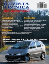 MANUAL DE TALLER RENAULT MEGANE BERLINA,COUPÉ Y SCENIC GAS. DESDE 1995