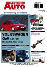 MANUAL DE TALLER VOLKSWAGEN GOLF IV TDi Electricidad + CD rom EAV20