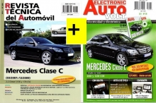 MANUAL DE TALLER MERCEDES BENZ CLASE C 200/220 CDi 2007 +MANUAL ELECTRICO CLASE C 200/220 +CD ROM