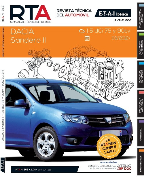 manual mantenimiento dacia sandero