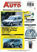 MANUAL DE TALLER PEUGEOT PARTNER,1.9 D Y HDi 2002/08 electricidad +CD ROM eav75