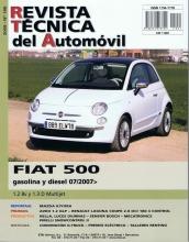 MANUAL DE TALLER Y MECANICA  FIAT 500 1.2 8V / 1.3 D MULTIJET DESDE 07/2007 Nº185+ REGALO TESTER