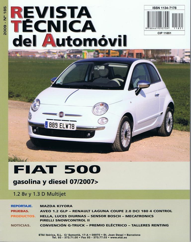 Manual De Taller Y Mecanica Fiat 500 1 2 8v    1 3 D Multijet Desde 07  2007 N U00ba185  Regalo Tester