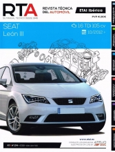 MANUAL DE TALLER Y MECANICA SEAT LEON III, 1.6 TDI 105CV DESDE 2012-R274+TESTER