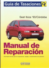 MANUAL DE TALLER Y MECANICA SEAT IBIZA CORDOBA 93/97 GAS Y DIESEL, GT