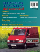 MANUAL DE TALLER MERCEDES BENZ SPRINTER 200, 300, 400, DIESEL & CDI (1995-2001) Nº 109