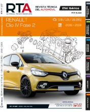 MANUAL DE MECÁNICA Y TALLER RENAULT Clio IV Fase 2 0.9i / 1.2i / 1.6i [RS] RTA297