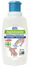 GEL HIDROALCOHOLICO  Higienizante  95ml para manos y 75% de alcohol 1 unidad