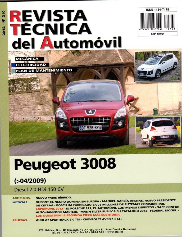 Manual De Taller Mecanica Peugeot 3008 20 Hdi 150cv 42009 R210